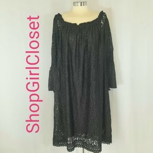 Speed Control NY Dress...Black Lace...Size 3x